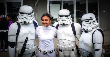 Storm Troopers and Princess Leia